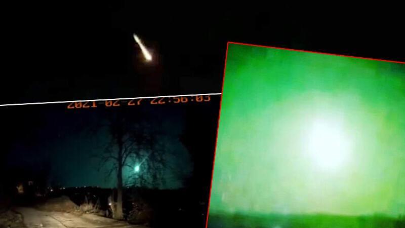 """Birçok ilde """"gök taşı düştü"""" iddiası Görüntüler sosyal medyada yayıldı"""