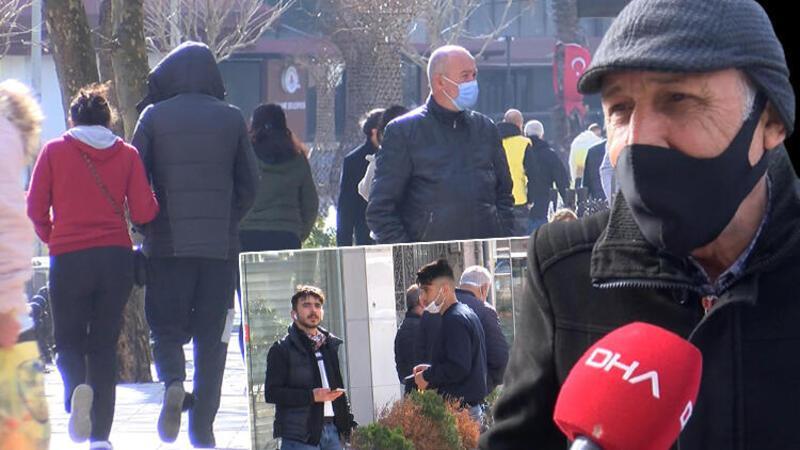 Kağıthane'de şaşırtan kalabalık; ne maske var ne cezai işlem endişesi