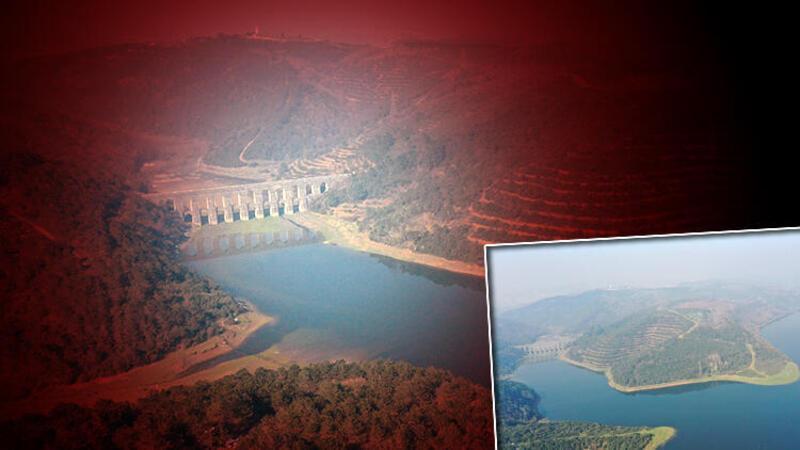 İstanbul barajlarında yüzde 20'lerin altına kadar inen su seviyesi, yüzde 55'i aştı