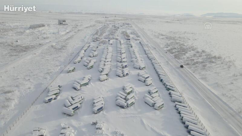 """Buz ve karlarla kaplı """"hayalet"""" şehir; Vorkuta"""