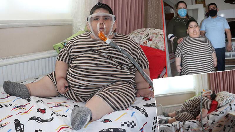 Samsun'da 5 yaşındaki Yağız, 90 kiloya ulaştı