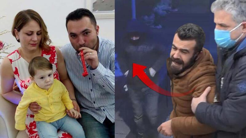 Tokkal ailesinin katil zanlısı Mehmet Şerif Boğa'nın güvenlik kamerası görüntüleri ortaya çıktı