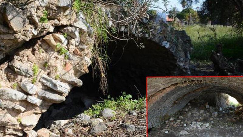 Muğla'nın Datça ilçesinde 1500 yıllık tarihi yapı turizme kazandırılıyor