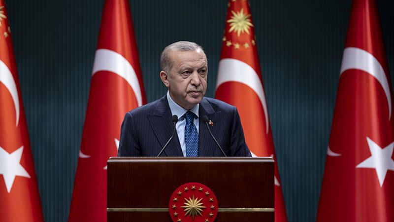 Cumhurbaşkanı Erdoğan, Kabine Toplantısı'nın ardından açıklamalarda bulundu