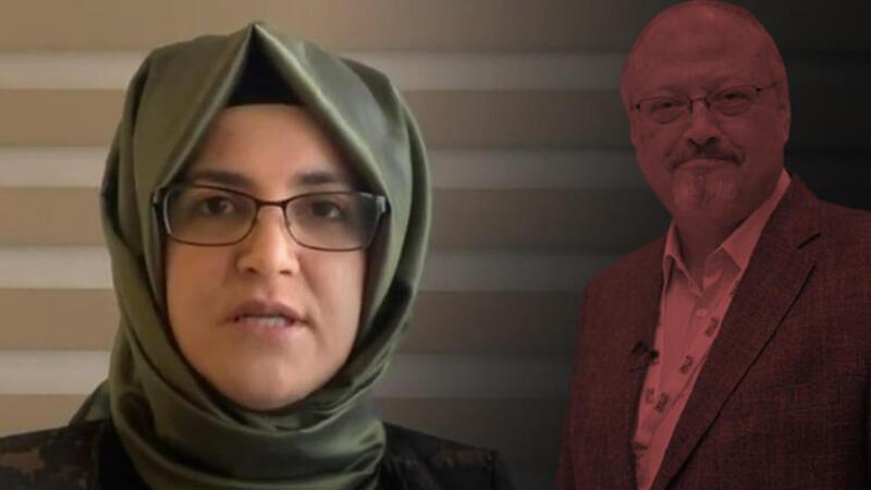 Kaşıkçı'nın nişanlısı Hatice Cengiz açıklamalarda bulundu