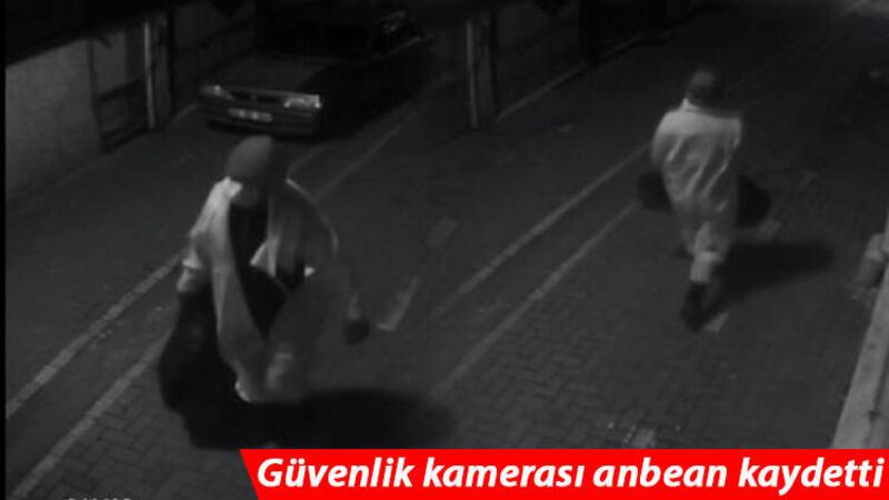 Samsun'da filyasyon ekibi tulumuyla hırsızlık kamerada