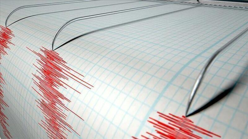 Yunanistan'da deprem! İşte ilk görüntüler