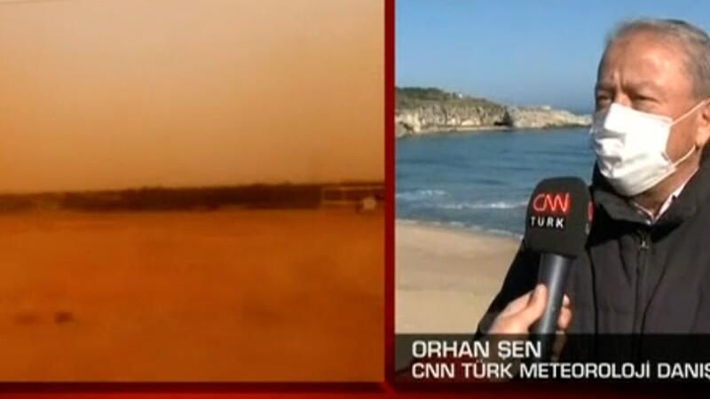 'Çöl tozları' Türkiye yolunda