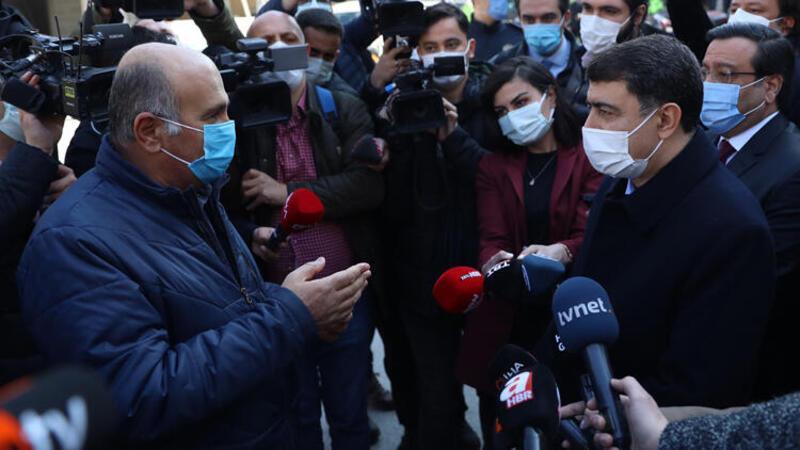 """Ankara Valisi Vasip Şahin, """"Dinamik Denetim Süreci"""" kapsamında denetim faaliyetlerine katıldı"""