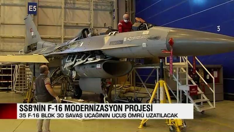 F-16 savaş uçaklarının ömrü uzatılacak