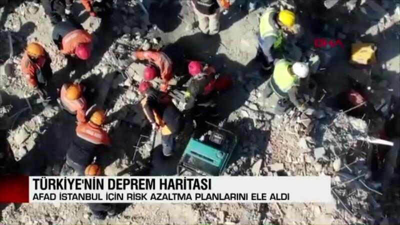 Türkiye'nin 'deprem' haritası