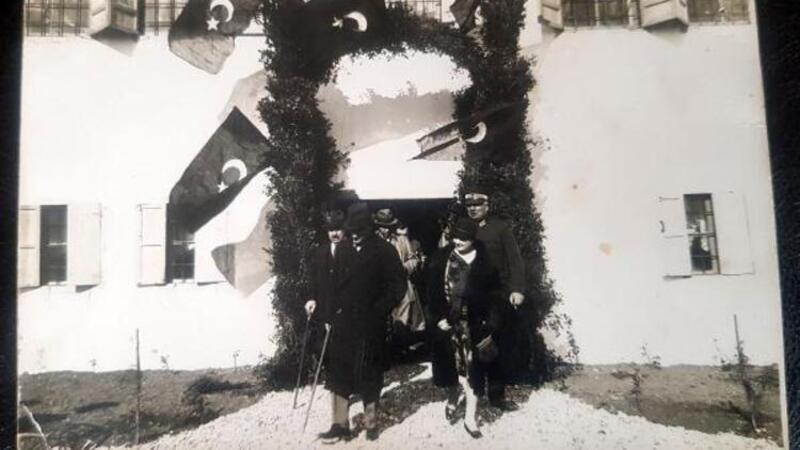 Atatürk'ün daha önce hiç görülmeyen fotoğrafı ortaya çıktı