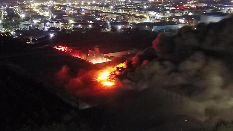 Tuzla'daki yangından acı haber