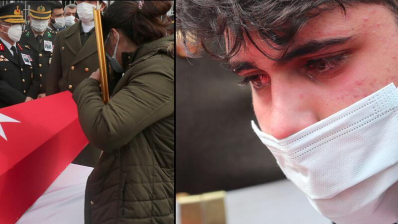 Şehit Piyade Uzman Çavuş Hakan Gül, gözyaşlarıyla son yolculuğuna uğurlandı