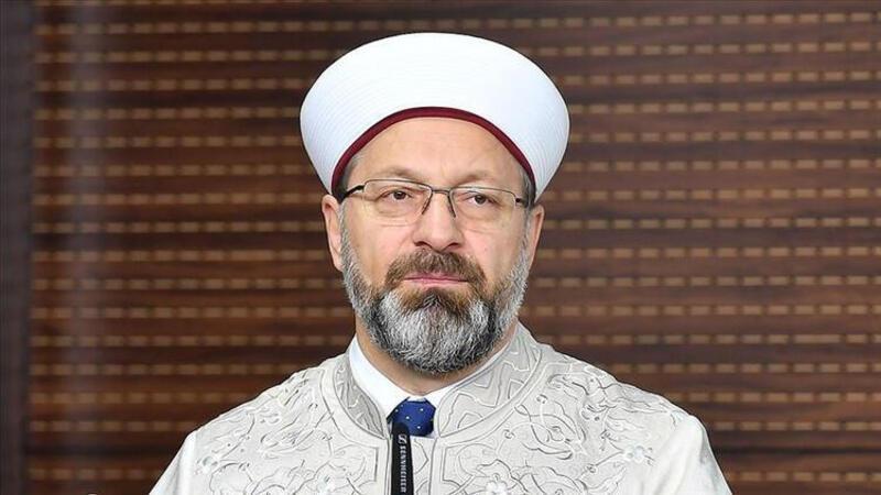 Diyanet İşleri Başkanı Ali Erbaş koronavirüse yakalandığını açıkladı