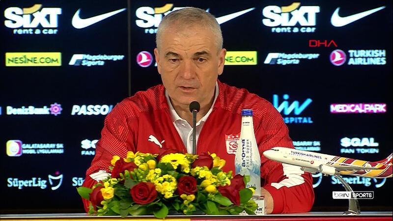 Rıza Çalımbay: Galatasaray gibi bir takımdan puan almak önemliydi