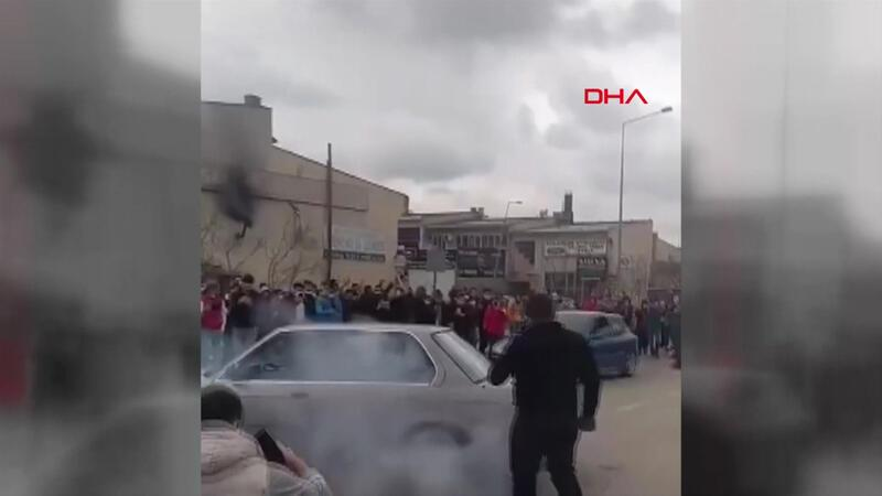 Yer Ankara... Drift partisinde kullanılan 26 araç trafikten men edildi