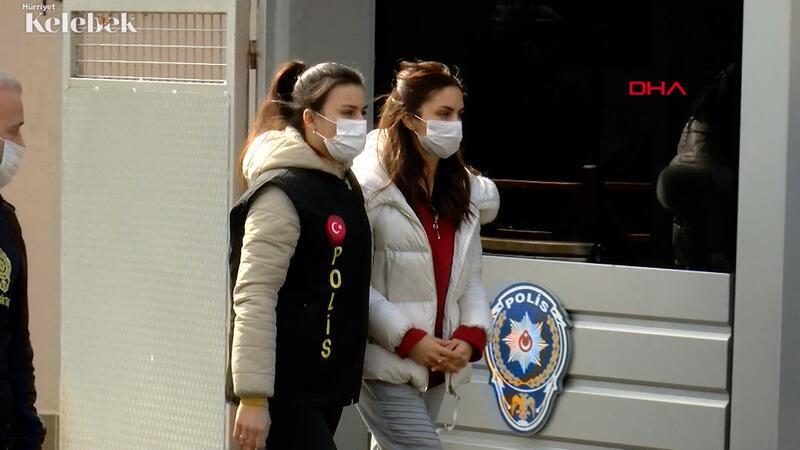 Arabasında yasaklı madde bulunan oyuncu Ayşegül Çınar adliyeye sevk edildi.