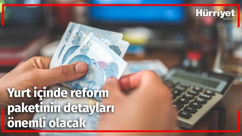 Dışarıda 'teşvik paketi', içeride 'reform paketi' önemli olacak