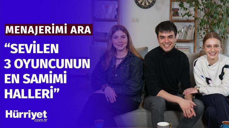Ahsen Eroğlu & Semi Sırtıkkızıl & Gamze Karaduman I Menajerimi Ara itirafları I Set ortamı I Aşk