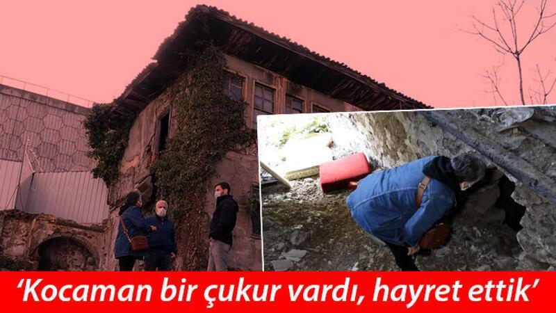 Trabzon'da 120 yıllık evi defineciler talan etti