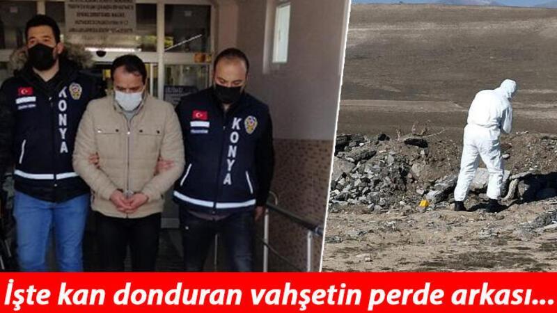 Astsubay, eşiyle ilişki yaşadığı iddiasıyla öldürdüğü kişinin cesedini molozla kapatmış