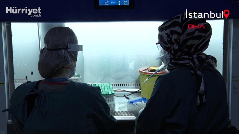 İstanbul'un en büyük koronavirüs test laboratuvarı