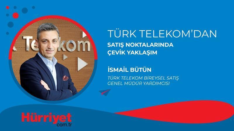 Türk Telekom'dan satış noktalarında çevik yaklaşım