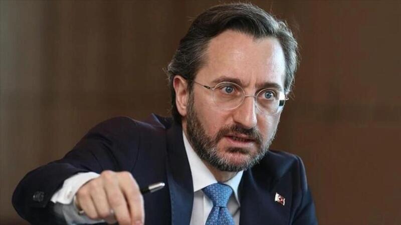 Cumhurbaşkanlığı İletişim Başkanı Altun, Yunanistan'ın PKK'ya destek verdiğini söyledi