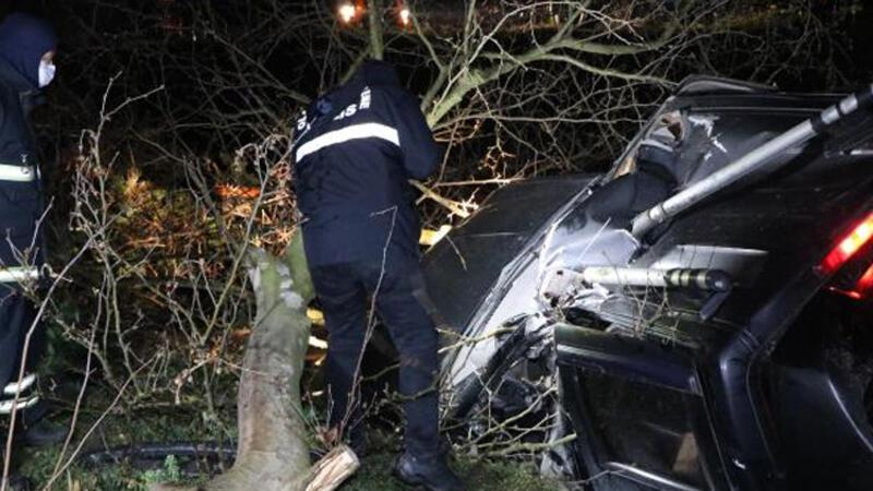 Aracın kontrolünü kaybetti ağaca çarptı! Hayatını kaybetti