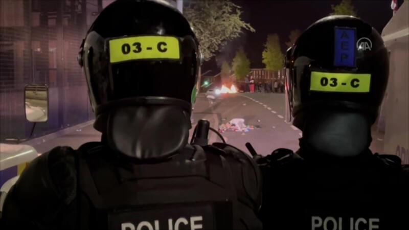 Kuzey İrlanda'daki şiddet olayları devam ediyor