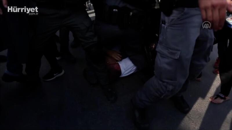 İsrail polisinden kendi milletvekiline saldırı