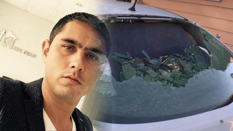 Habersizce otomobilde oturuyordu... Silahlı kavgada başından yaralandı!