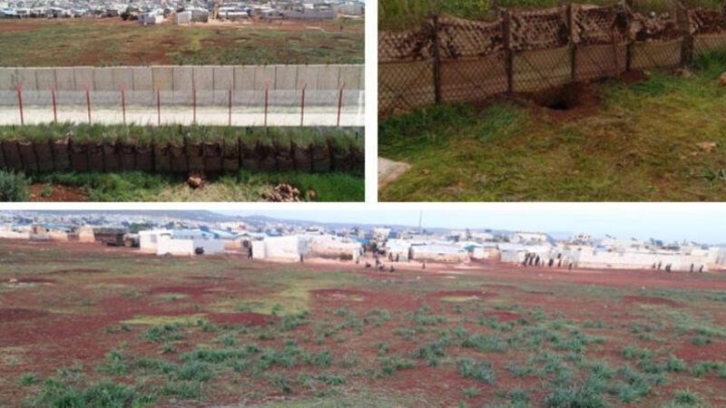 Hatay Reyhanlı'da 100 metre uzunluğunda tünel tespit edildi