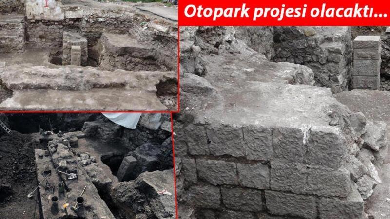 Arkeolojik kalıntıların bulunduğu alan müzeye dönüştürülecek
