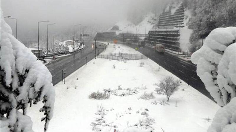 Bolu Dağı'nda kar kalınlığı 35 santimetreye ulaştı