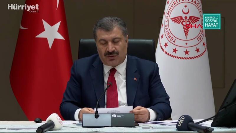 Sağlık Bakanı Fahrettin koca aşı çalışmalarının sonucunu açıkladı