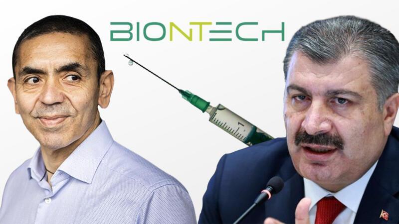 Sağlık Bakanı Fahrettin Koca: 30 milyon doz BioNTecH aşısı için söz verildi