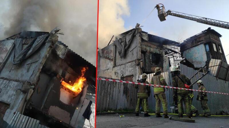 İstanbul Fatih'te yangın paniği! Tüm binayı sardı