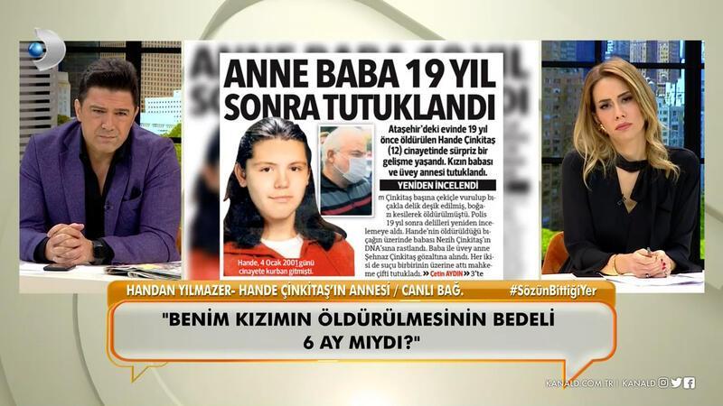 Hande Çinkitaş'ın vahşice öldürülmesine ilişkin verilen mahkeme kararına, anne isyan etti!