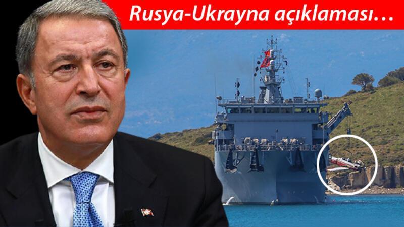 Milli Savunma Bakanı Akar'dan, Rusya-Ukrayna gerginliği hakkında açıklama