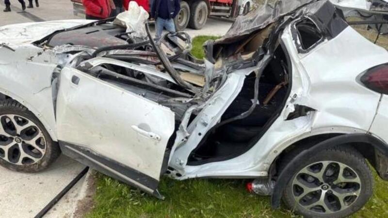 Isparta'da acil tıp uzmanı doktorun öldüğü kaza kameraya yansıdı