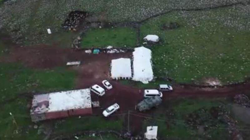 Şanlıurfa'da drone destekli şafak operasyonunda silah ve mühimmat ele geçirildi