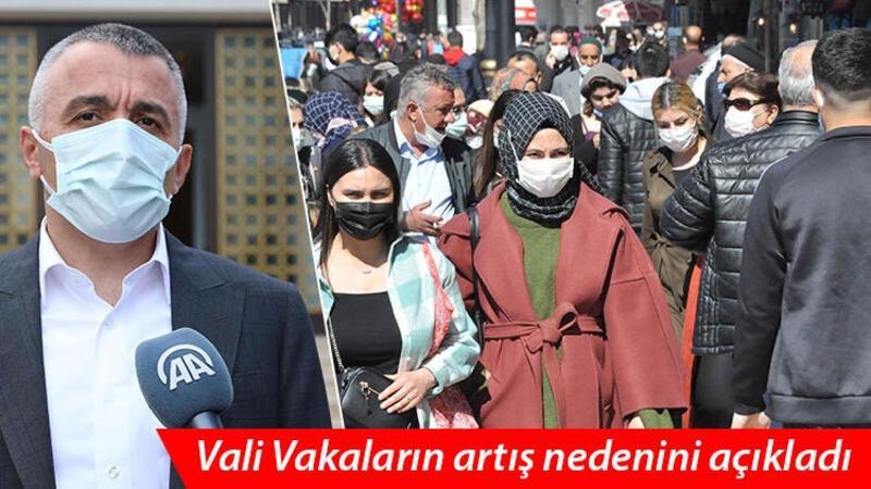 Vali Bilgin, kentteki vaka artışını mutasyonlu virüs ve ev ziyaretlerine bağladı
