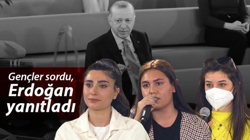 Gençler sordu Cumhurbaşkanı Erdoğan yanıtladı