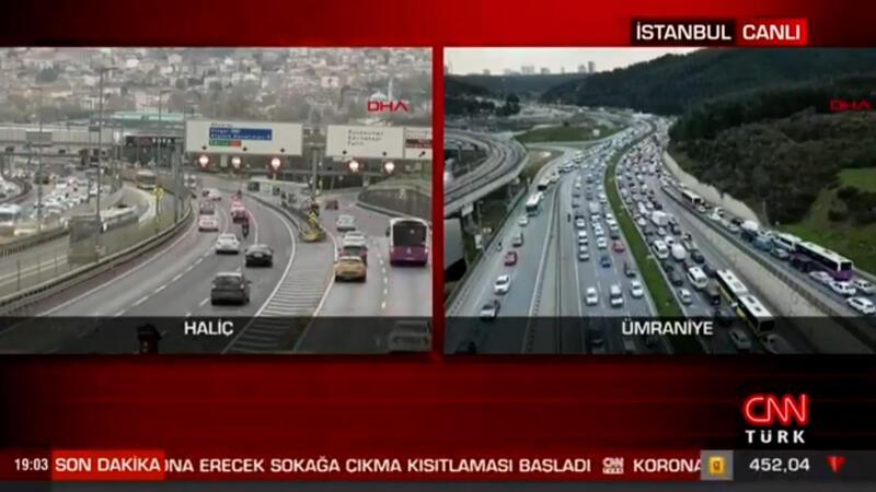 Koronavirüs tedbirleri kapsamında Türkiye genelinde kısmi kapanma başladı