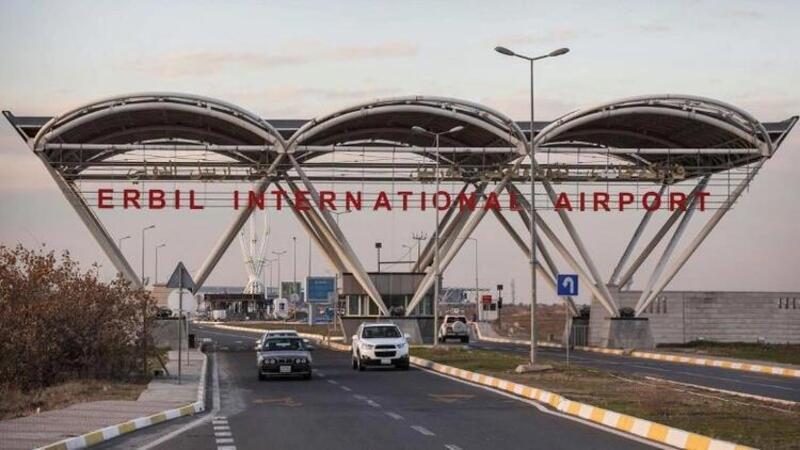 IKBY Güvenlik Ajansı, en az bir füzenin Erbil Uluslararası Havalimanı'nı hedef aldığını duyurdu