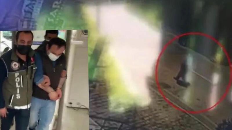 Beylikdüzü'nde 2 iş yerinden hırsızlık yapan şüpheli kamerada