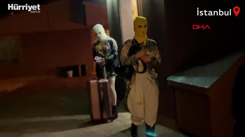 Kar maskeli korona partisi