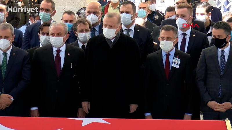 Eski Başbakan ve TBMM Başkanı Yıldırım Akbulut için cenaze töreni düzenlendi